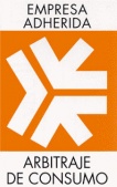 Logo de empresa adherida a arbitraje de consumo