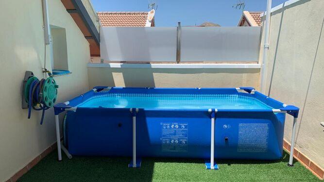 piscinas portatiles en azoteas y terrazas de comunidades de vecinos